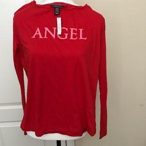 NWT Victoria's Secret angel long sleeve T-shirt
